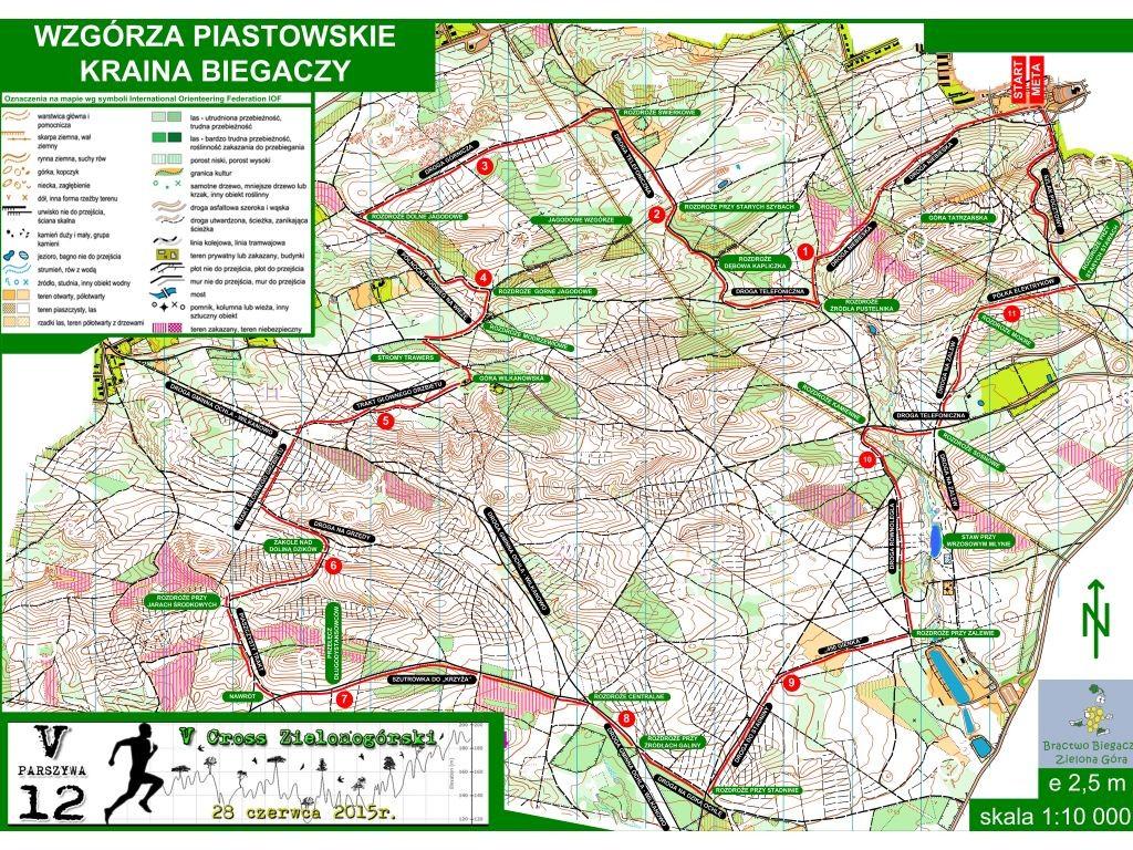 Trasy biegowe: Parszywa 12 trasa biegu v5