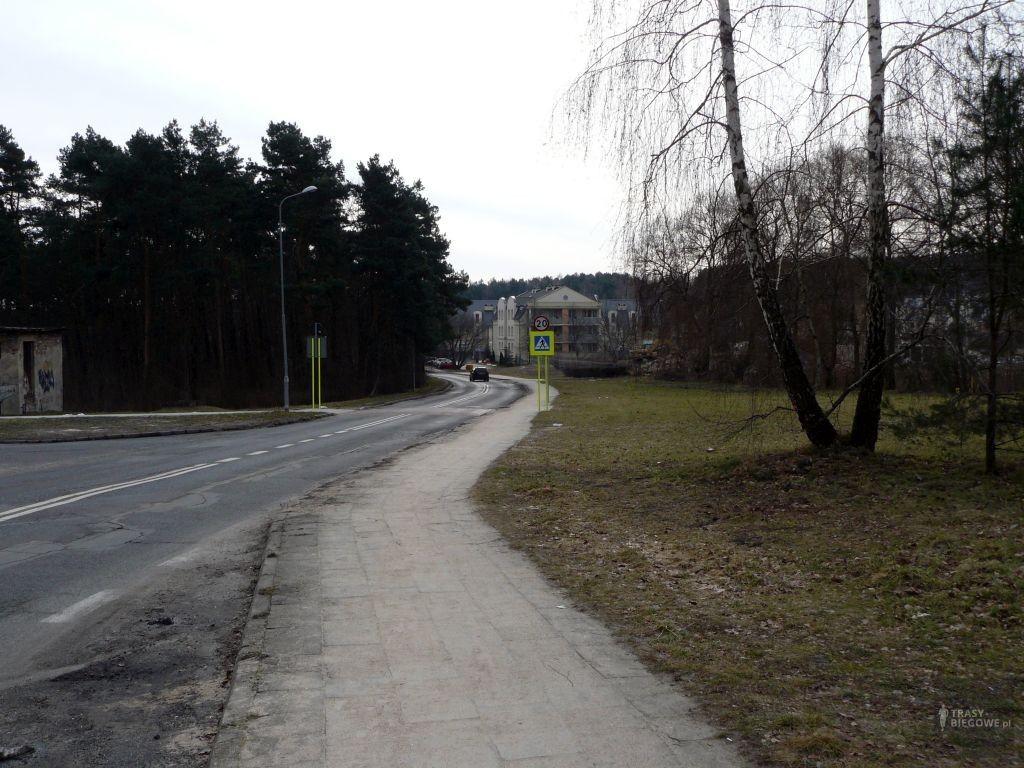 Trasy biegowe: Nowa i PIleckiego, Zielona Góra, woj. Lubuskie