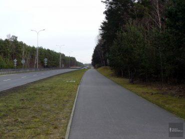Trasa biegowa / Sulechowska, Trasa płn i Zjednoczenia (15,5 km)