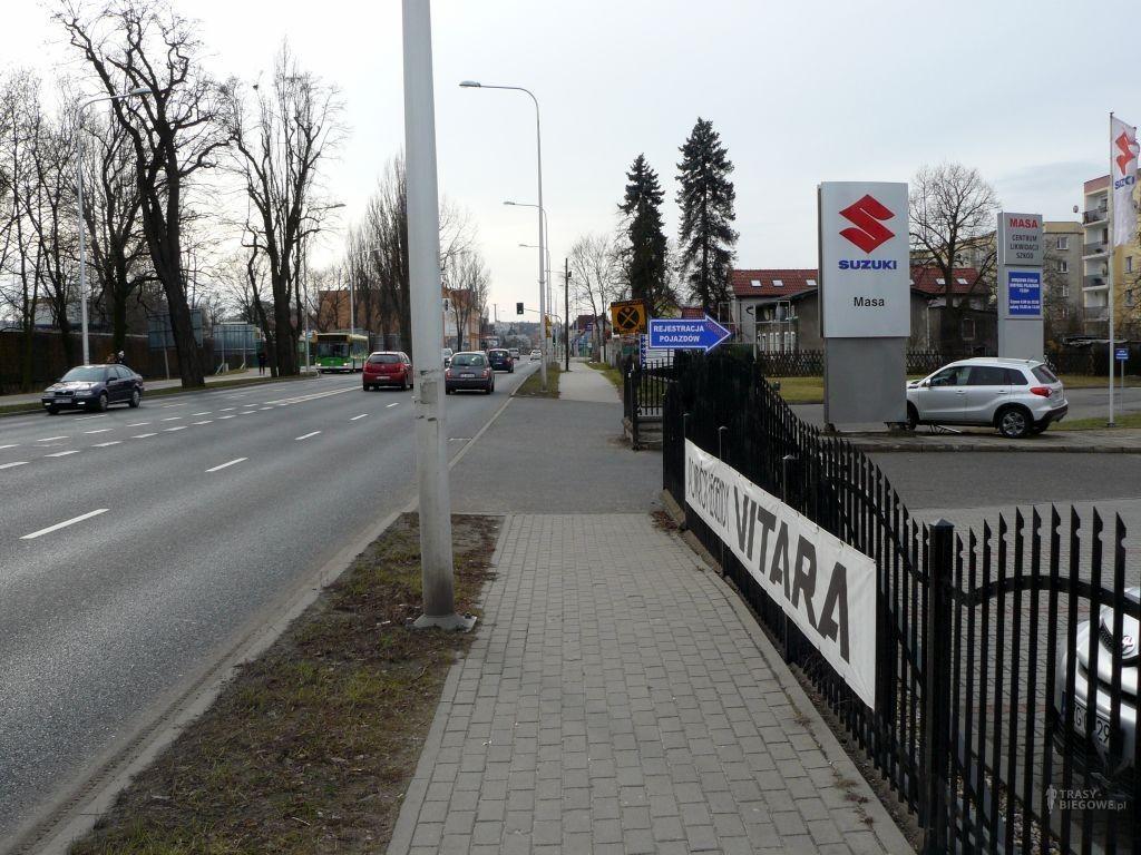 Trasy biegowe: Sulechowska, Trasa płn i Zjednoczenia, Zielona Góra, woj. Lubuskie