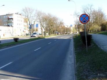 Trasa biegowa / IV półmaraton zielonogórski (21,1 km)