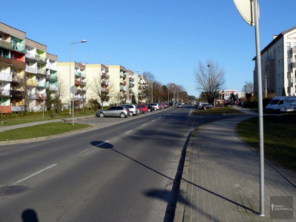 Trasy biegowe: IV półmaraton zielonogórski, Zielona Góra, woj. Lubuskie